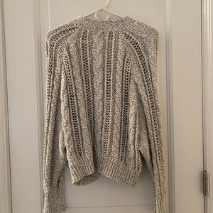Venice Dolman Button Up Cardigan in Oatmeal.
